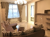 "Author's 3-room apartment for lease RC ""Premier Palace"" 50, Pionerskaya Str. St-Petersburg"