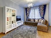 Элитная 3-комнатная квартира в аренду новый ЖК в центре Санкт-Петербурга