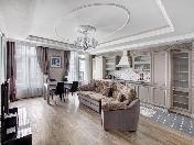 """Арендовать стильную 3-комнатную квартиру в ЖК """"Тапиола"""" Санкт-Петербург"""
