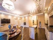 Appartement 3-pièces à louer dans une nouvelle maison île Vasilievsky Saint-Pétersbourg