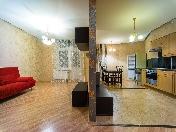 Стильная 3-комнатная квартира в аренду в новом доме, ул. Петрозаводская, 13, СПБ