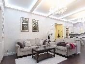 "Author's design renovation 3-room apartment to let complex ""Paradny Kvartal"" Saint-Petersburg"