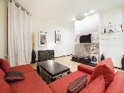 Author's design studio apartment for lease at 84, Nevsky Prospect Saint-Petersburg