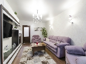 "Rent author's design renovation 2-room apartment in the RC ""Tsarskaya Stolica"" St-Petersburg"
