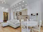 Rent stylish 2-room apartment with a balcony at 12, Millionnaya Street Saint-Petersburg