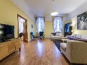 Rent modern design 4-room apartment at 4, Krukov Canal Emb. Saint-Petersburg
