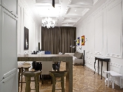 "Rent author's design 4-room apartment elite building ""Monferan"" Saint-Petersburg"
