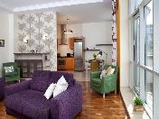 Арендовать элитную 3-комнатную квартиру Крестовский остров Санкт-Петербург