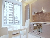 "Rent stylish 1-room apartment with a balcony complex ""Imperial"" Saint-Petersburg"