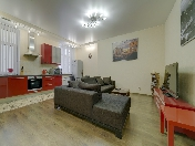 Rent stylish 3-room apartment at Rubinshteina Street Saint-Petersburg