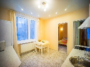 "Rent modern design 2-room apartment in the RC ""Tsarskaya Stolitsa"" Saint-Petersburg"