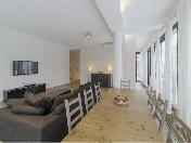 Снять дизайнерскую 3-комнатную квартиру наб. Мартынова д. 74 Крестовский о-в СПБ