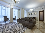 Rent stylish 4-room apartment at 16, Martynova emb., Krestovsky island St-Petersburg