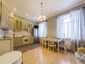 Water view 3-room apartment for rent at 50, Fontanki river emb., Saint-Petersburg