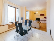 "Rent spacious water view 3-room apartment elite complex ""Monblan"" Saint-Petersburg"
