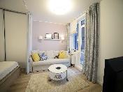 "Rent stylish 1-room apartment in the RC ""Tsarskaya Stolica"" Saint-Petersburg"