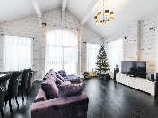 "Rent two floor 6-room cottage Kurortny district ""Novy Mir"" village Saint-Petersburg"