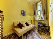 Rent stylish 2-room apartment at 1, Tatarsky lane Saint-Petersburg