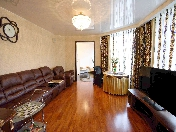 "Rent classical 3-room apartment modern RC ""Morskoy Fasad"" Vasilevsky island St-Petersburg"