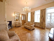 Amazing view 3-room apartment for lease at 2, Kazanskaya Square Saint-Petersburg