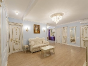 Author's design 4-room apartment to let in an elite house 123, Ligovsky pr. St-Petersburg