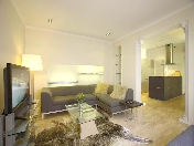 Author's design 2-room apartment rental in an elite house 13, Konnogvardeisky blvd St-Petersburg