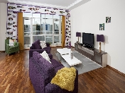Stylish 3-room apartment for lease in an elite residential complex Krestovsky Island St-Petersburg