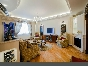 Panoramic view author's 3-room apartment to let elite house 26, Kuibysheva Str. St-Petersburg