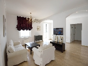 "Water view stylish 3-room apartment to let RC ""Morskoy Facade"" Vasilievsky Island St-Petersburg"