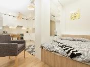 Stylish studio for rent in an elite house at 18, Aptekarskiy prospect Saint-Petersburg