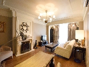 Author's design 3-room apartment for rent at 1, Tverskaya Street Saint-Petersburg