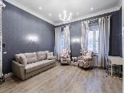 Аренда дизайнерской 2-комнатной квартиры на Захарьевской ул. 14 С-Петербург