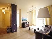 """Appartement de 2-pièces de luxe à louer CR de prestige """"Smolny Park"""" Saint-Pétersbourg"""