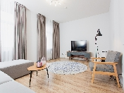 Modern design 4-room apartment rental at Vasilievsky Island Saint-Petersburg