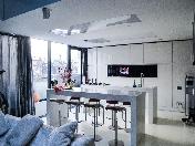 Appartement de 4-pièces de luxe avec une terrasse à louer 54, rue Galernaya SPB