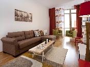 Аренда стильной 3-комнатной квартиры в элитном доме ул. Графтио д. 5 С-Петербург