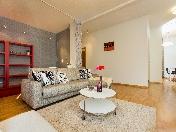 Аренда стильной 3-комнатной квартиры элитный дом ул. Графтио д. 5 С-Петербург