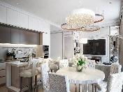 """Author's design 4-room apartment for rent in the elite RC """"Aristocrat"""" Saint-Petersburg"""