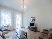 Stylish 3-room apartment for rent in an elite building 47-49, Marata Str. St-Petersburg