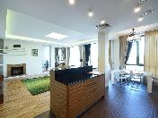 Аренда видовой дизайнерской 4-комнатной квартиры Песочная наб. 12 С-Петербург