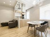 Stylish 3-room apartment for rent at 14, Yakubovicha Street Saint-Petersburg