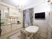 "3-room apartment rental elite residential complex ""Prestige"" Vasilyevsky Island St-Petersburg"