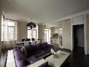 Аренда дизайнерской 4-комнатной квартиры в элитном ЖК «Олимпийская Деревня» СПБ