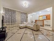 Аренда дизайнерской 3-комнатной квартиры в элитном ЖК Вязовая ул. 10 С-Петербург