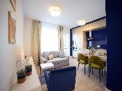 Аренда стильной 2-комнатной квартиры с балконом Аптекарский пр. 18 С-Петербург