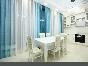 City view author's design 3-room apartment 183-185, Moskovsky pr. Saint-Petersburg