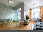 Stylish studio apartment rental in an elite building 64, Kamennoostrovsky pr. St-Petersburg