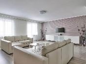 Аренда дизайнерской 3-комнатной квартиры с двумя лоджиями Васильевский остров СПБ