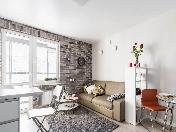 Аренда новой авторской 2-комнатной квартиры с балконом Васильевский остров СПБ