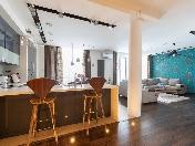 Аренда дизайнерской 4-комнатной квартиры ЖК «Новая Скандинавия» С-Петербург